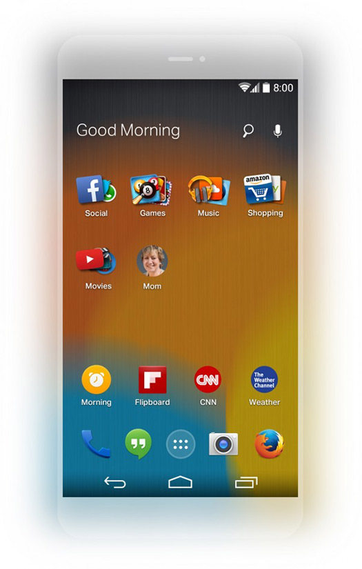 Firefox Launcher para Android
