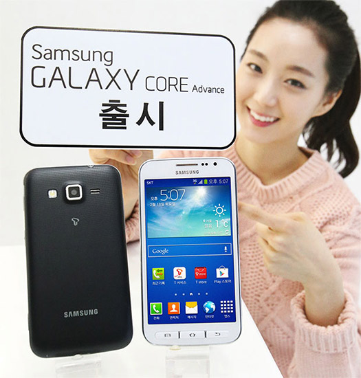 Samsung lanza el  Galaxy Core Advance y Galaxy Core  LTE
