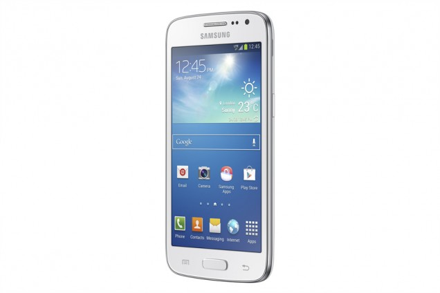 Samsung Galaxy Core  LTE pantalla color blanco