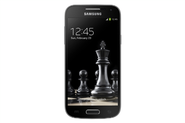 Samsung Galaxy S4 mini Black Edition pantalla