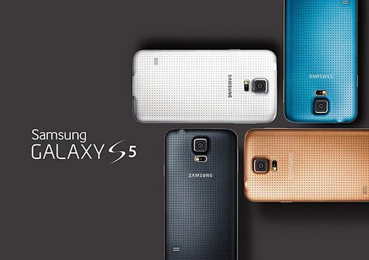 Samsung Galaxy S5 colores cámaras