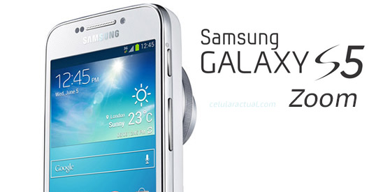 Samsung Galaxy S5 Zoom logo No official