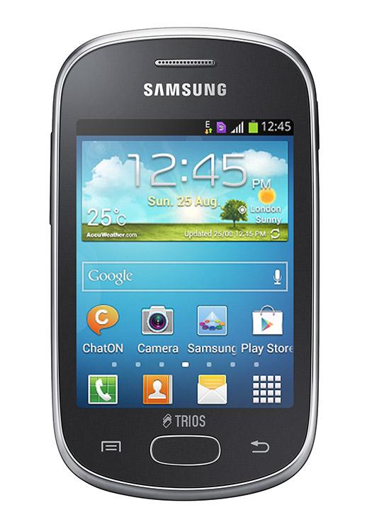Samsung Galaxy Star Trios pantalla con Triple SIM