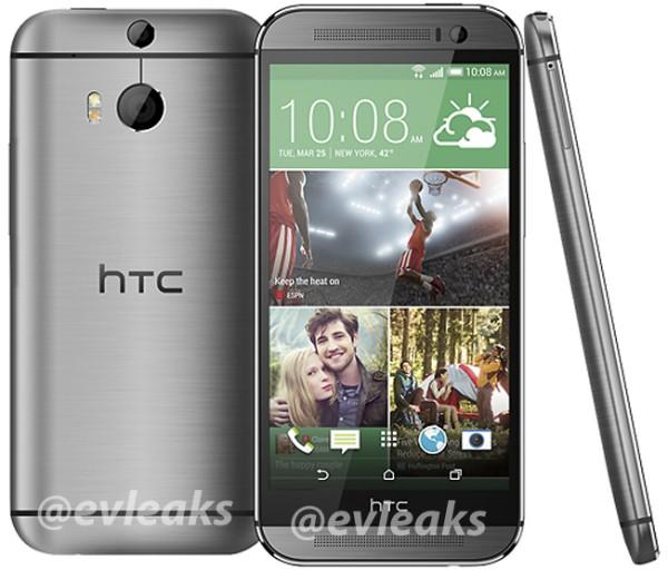 El Nuevo HTC One (M8) Silver color Plata