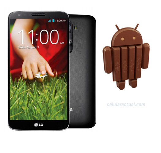 LG G2 con Android 4.4 KitKat
