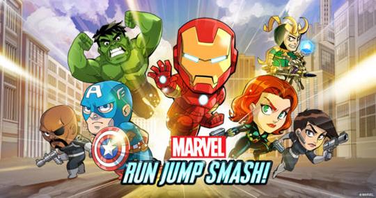 app marvel run jump smash