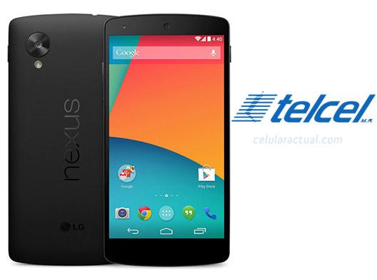 LG Nexus 5 en México con Telcel