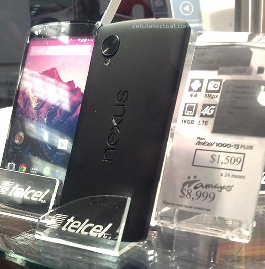 LG Nexus 5 en México con Telcel CAC Perisur en vivo