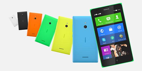 """Nokia XL con Android colores pantalla de 5"""""""