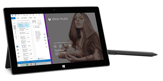 Microsoft Surface Pro 2  Xbox Music