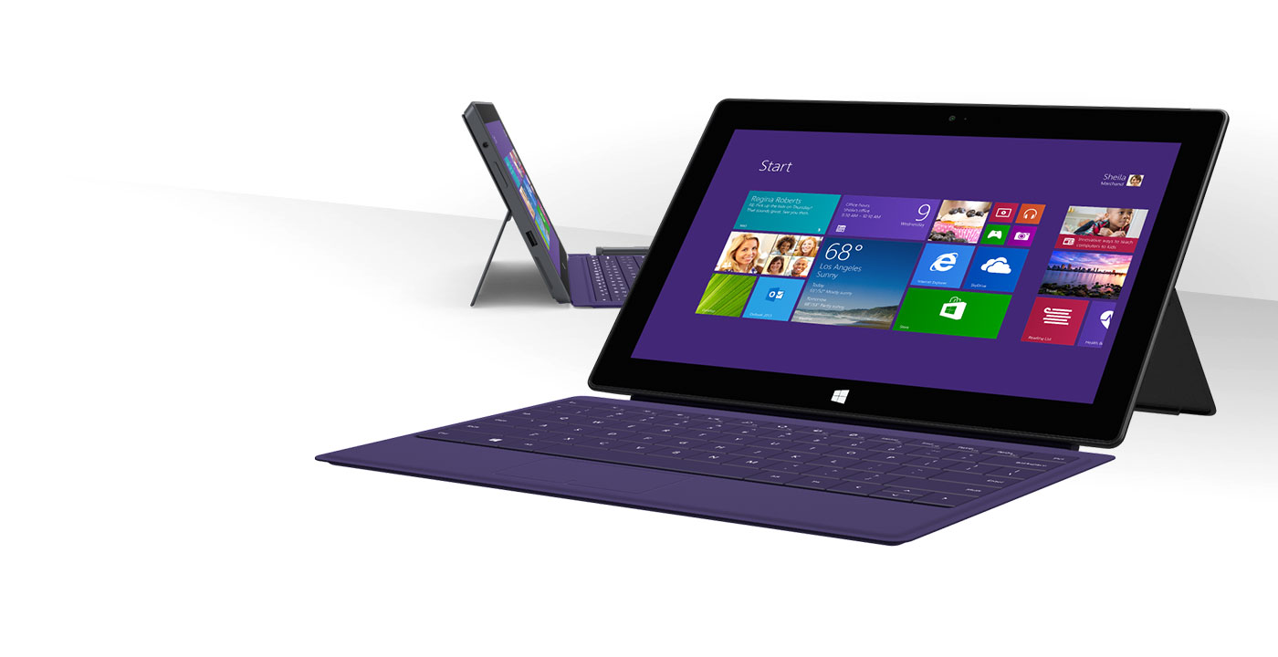 Microsoft Surface Pro 2 teclado completo