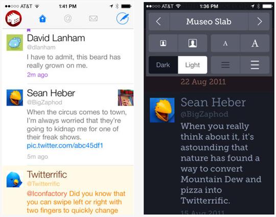 Twitterrific para iOS recibe actualización importante