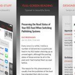 Unread, el nuevo y mejor lector RSS para iPhone