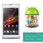 El Sony Xperia SP recibe Android 4.3 Jelly Bean en México con Telcel