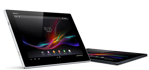 Xperia Tablet Z colores