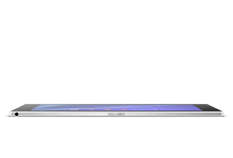 Sony Xperia Z2 Tablet lado espesor ultra delgada