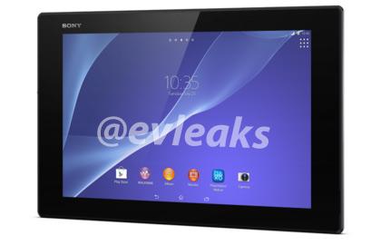 Sony Xperia Z2 tablet pantalla
