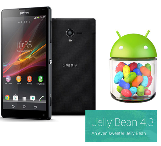 Sony Xperia ZL , Tablet Z, Xperia Z1 y Z Ultra reciben Android 4.3 Jelly Bean en México