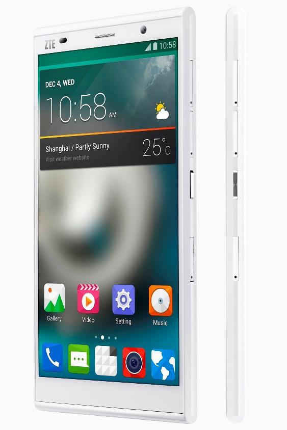 ZTE Grand Memo II LTE color blanco phablet