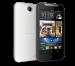 El HTC Desire 310 color blanco y negro