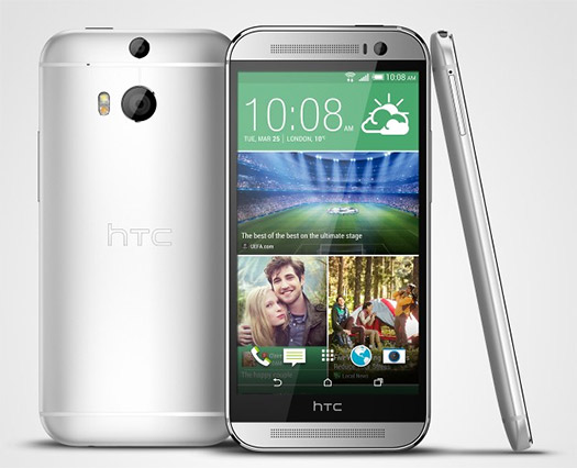 El HTC One (M8) oficial Silver