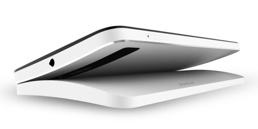 ZTE Grand S ext smartphone curvo con Nano Molding Technology NMT trasera