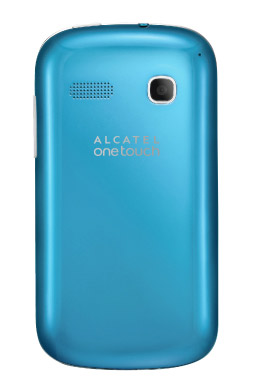 Alcatel One Touch Pop C3 en México con Movistar color azul cámara