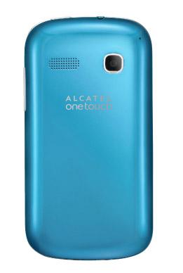 Alcatel One Touch Pop C3 en México con Movistar color azul cámara
