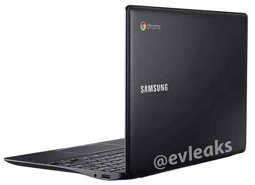 Samsung Chromebook 2 parte trasera imitación piel