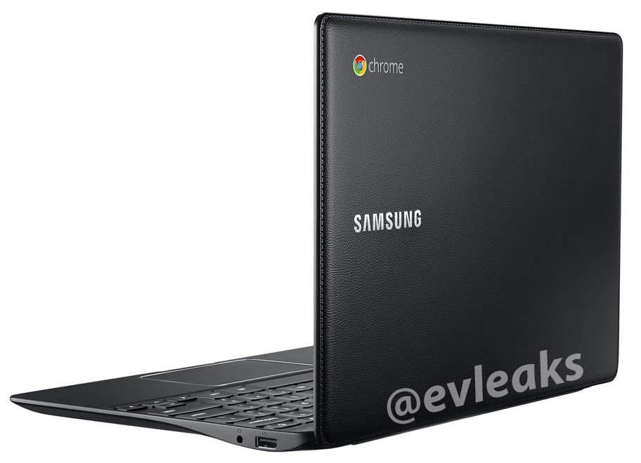 Samsung Chromebook 2 parte trasera imitación piel imagen