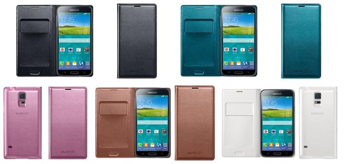 Samsung Galaxy S5 Flip Wallet Cover oficial