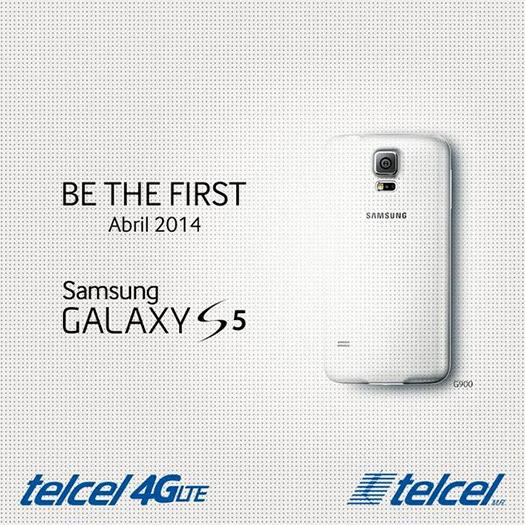 Samsung Galaxy S5 Teaser en México con Telcel llega en Abril
