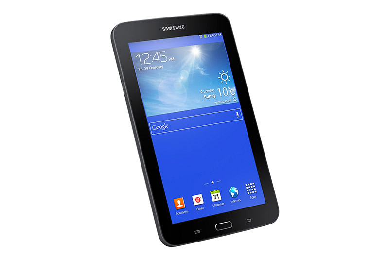 Samsung Galaxy Tab 3 Lite en México pantalla de lado vertical