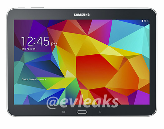 Galaxy Tab 4 10.1 oficial color negro