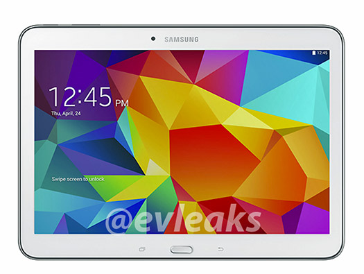 Galaxy Tab 4 10.1 oficial color blanca