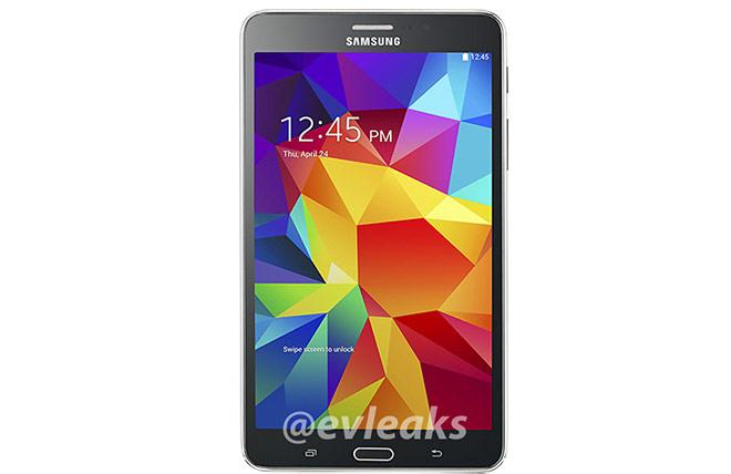 Samsung Galaxy Tab 4 7.0 color negro pantalla