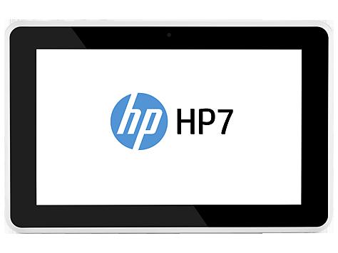 HP 7 1800 en México pantalla frente