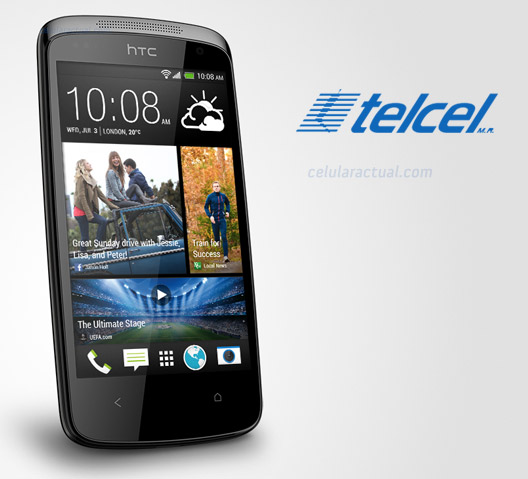 HTC Desire 500 en México con Telcel