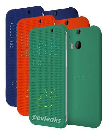 El Nuevo HTC One 2014 (M8) cubiertas oficiales