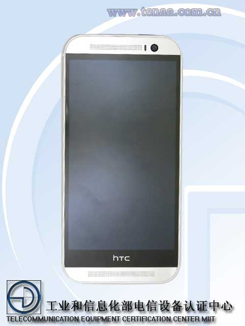HTC One 2014 registro tenaa final