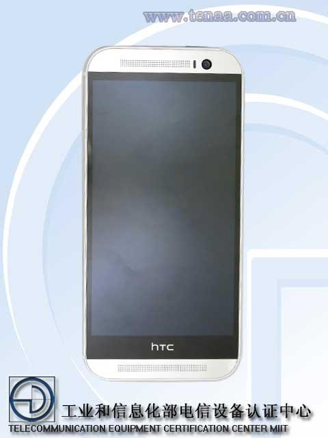 HTC One 2014 registro tenaa final