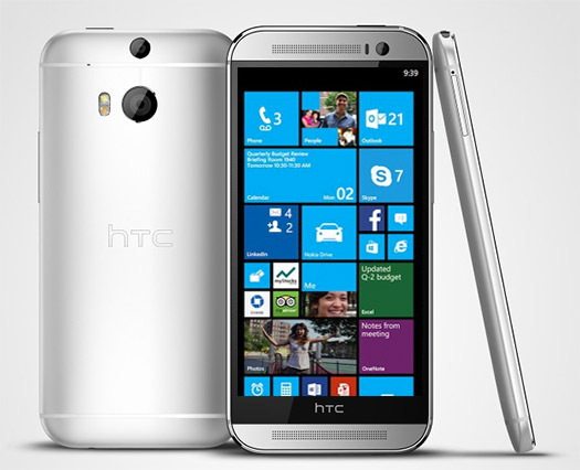 HTC One M8 con Windows Phone 8 GDR3