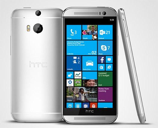 HTC One M8 con Windows Phone 8 GDR3