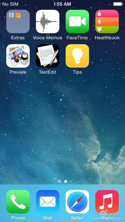 iOS 8 de Apple con nuevas Apps