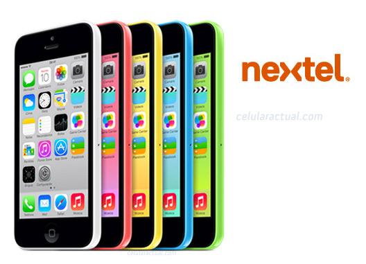 El iPhone 5c en Nextel México