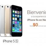 El iPhone 5s ya en Nextel México: mira todos los precios