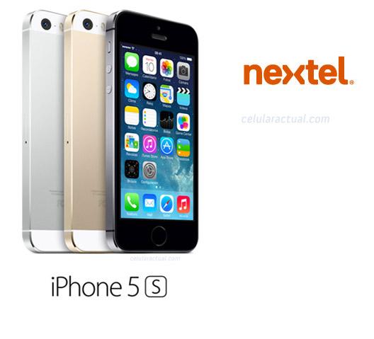 iPhone 5s en Nextel México logo