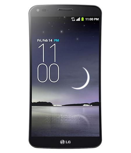 LG G Flex D950 con pantalla Curva P-OLED