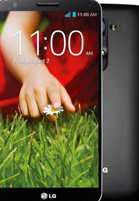 LG G2 detalle de cerca