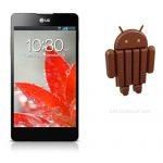 LG Optimus G obtendrá Android 4.4 KitKat en verano